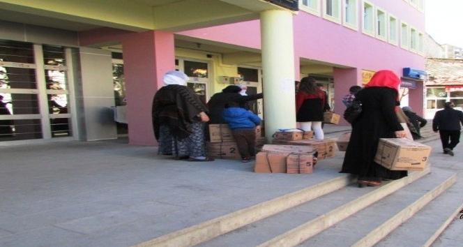 Bulanık Belediyesinden halka yardım