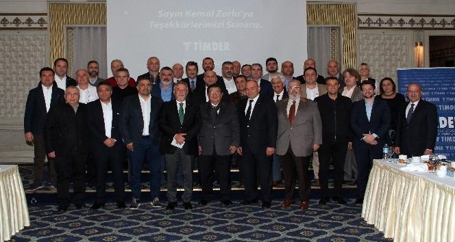 Kemal Zorlu, TİMDER üyeleriyle buluştu