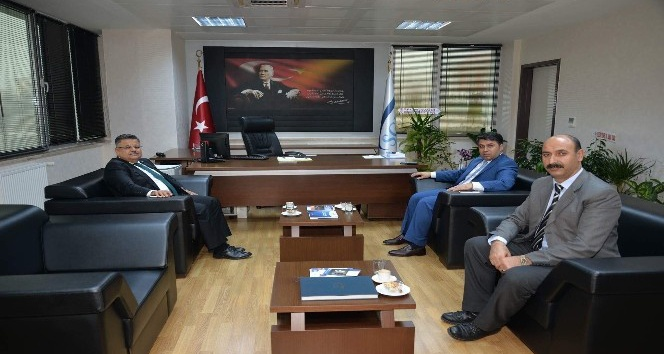 Başkan Yağcı'dan yeni SGK Müdürü Bedir'e ziyaret