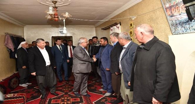 Şanlıurfa Valisi kanaat önderleriyle buluşmaya devam ediyor