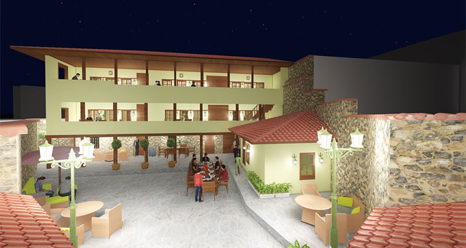 Manisada 3 asırlık yapı turizme kazandırılıyor