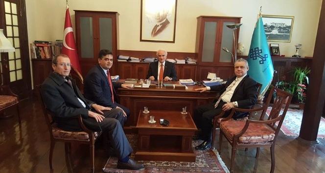 Başkan Yalçın Ankara'da