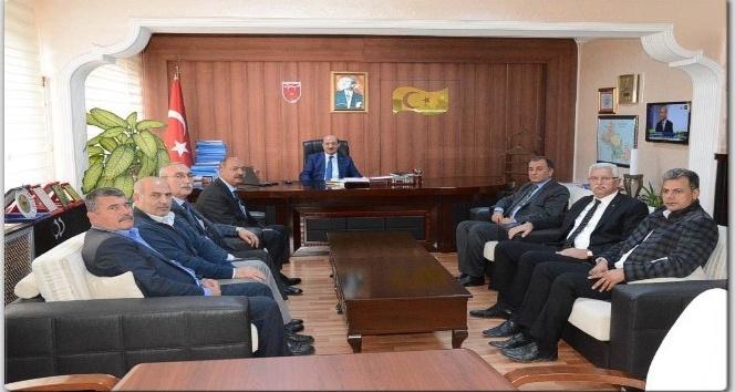 Yol İş Adana Şubesi'nden Genel Sekreter Mustafa Bolat'a ziyaret