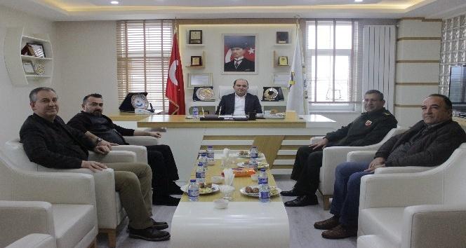 Albay İnan'dan Safranbolu TSO'ya ziyaret