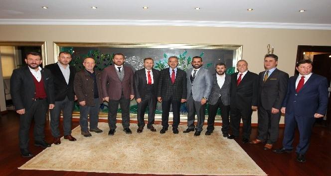 Başkan Köşker, Gebze Rizeliler Derneğini ağırladı
