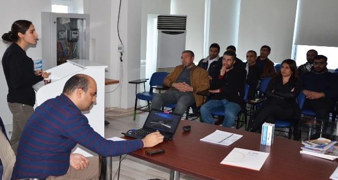 Dicle Elektrik çalışanlarına afet eğitimi