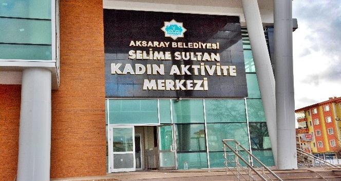 Aksaray'da kadınlara özel yüzme havuzu