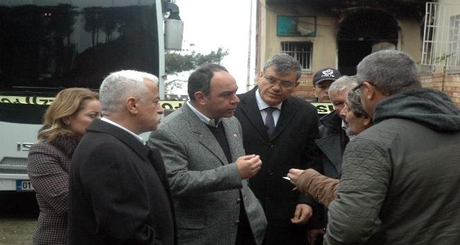 CHP'li vekillerin yurt incelemesinde gerginlik çıktı