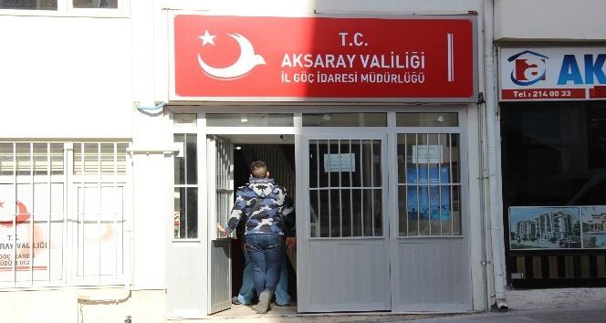 Aksaray'a 13 yılda 8 bin 919 yabancı yerleşti