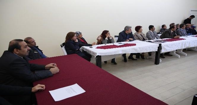 Haliliye'de personele hizmet içi eğitim