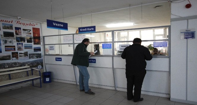 Beyşehir'de borç yapılandırmasından bin 164 kişi yararlandı