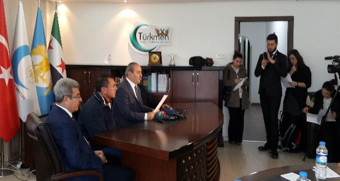 """Suriye Türkmen Meclisi Başkanı Bozoğlan: """"Dünyanın gözleri önünde Halep ölüyor"""""""