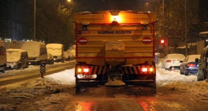 Kağıthane Belediyesi kışa hazır