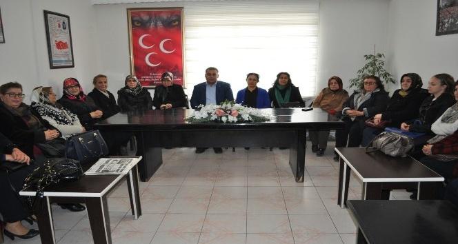 MHP Kadın Kolları istişare toplantısında bir araya geldi