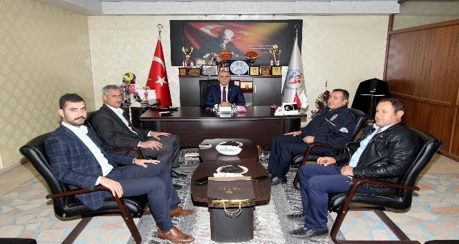 Belediye Başkan Yardımcısı Ahmet Polat'dan, Müdür Arkaaltı'na ziyaret