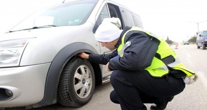 Kış lastiği taktırmamanın cezası 602 TL