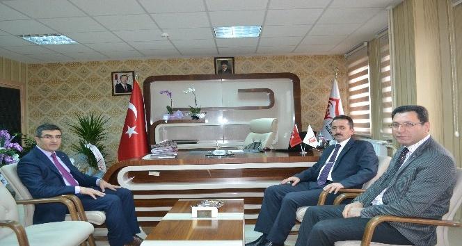 Kültür ve Turizm İl Müdürü Almaz'dan Aile ve Sosyal Politikalar İl Müdürlüğü'ne ziyaret