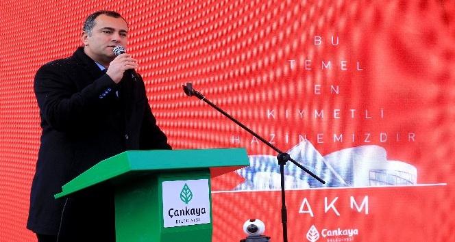 Çankaya Belediyesi Atatürk Kültür Merkezi'nin temeli atıldı