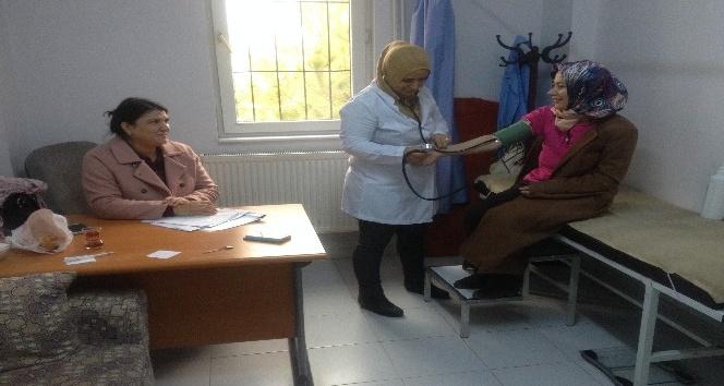 Besni ilçesinde gebe annelere doğum sonrası bilgilendirilmesi yapıldı