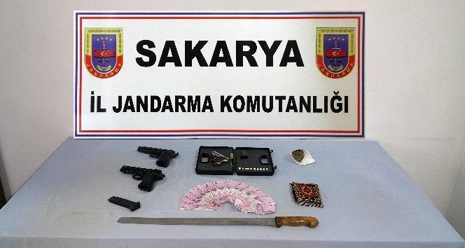 Sakarya'da 'Drone' destekli uyuşturucu operasyonu