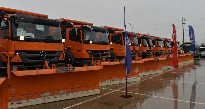 Büyükşehir 'kar'a hazır