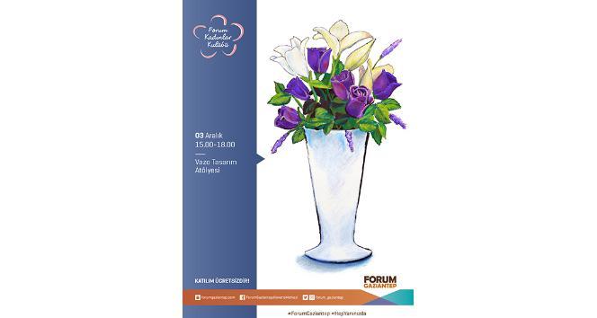 Kadınlar rengarenk vazolarla evlerini süsleyecek
