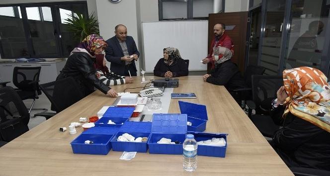 Tekkeköy Belediyesi ve Borsan işbirliğinde evde iş imkanı