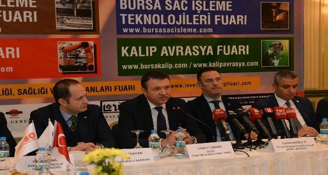 250 yabancı işadamı Bursalı firmalarla işbirliğinin yollarını arayacak