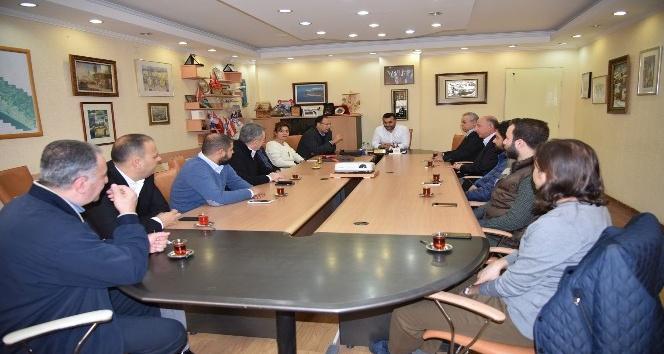 ALTİD yeni yönetimi Başkan Yücel'i ziyaret etti