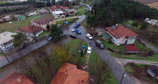 Sakaryada Drone destekli uyuşturucu operasyonu