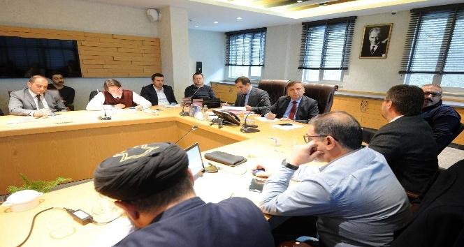Büyükşehir Raylı Sistem Hat Güvenliği Toplantısı