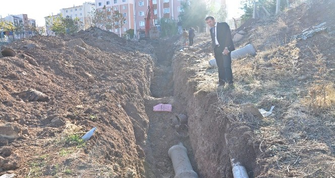 TOKİ konutları kanalizasyonunda bakım onarım çalışması tamamlandı