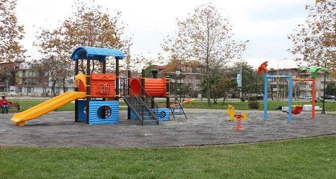 Ordu'da oyun parkları modernize ediliyor