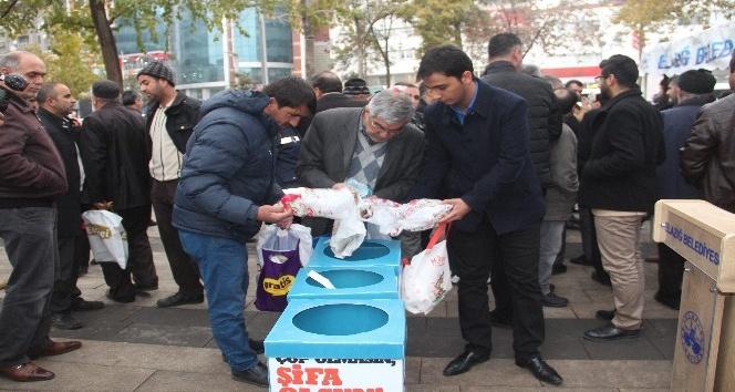 Elazığ'dan Suriye'ye ilaç kampanyası başlatıldı