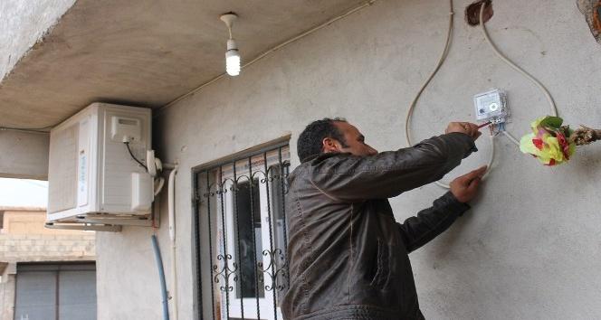 Elektrik kesintisi eylemi yapılan mahallede kaçak kullanım tespit edildi