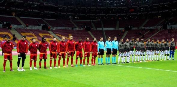 Galatasaray Elazığspor Türkiye Kupası maçı özel kareler