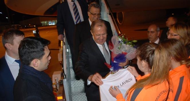 Rusya Dışişleri Bakanı Lavrov Antalyada