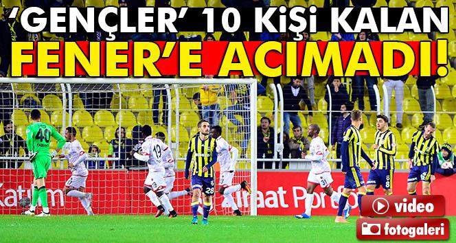 Fenerbahçe Gençlerbirliği maçı geniş özeti ve golleri izle