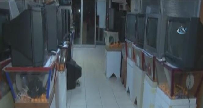 İstanbulda tombala operasyonu kamerada