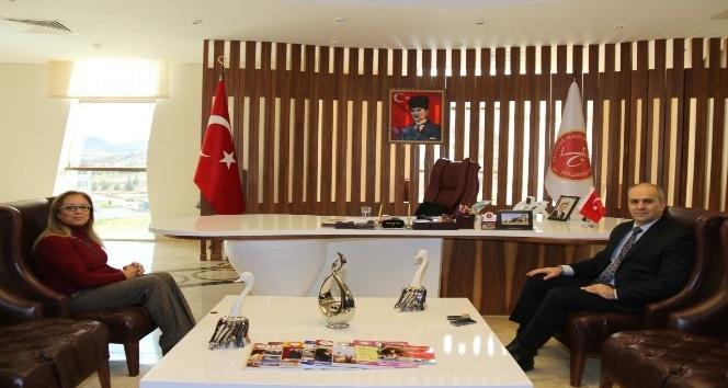 Nevşehir İl Emniyet Müdürü Artunay, Rektör Kılıç'ı ziyaret etti