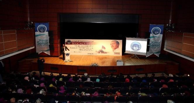 Büyükşehir Belediyesi ve SADED tarafından 'Bugünün Asım'ı' adlı konferans düzenlendi