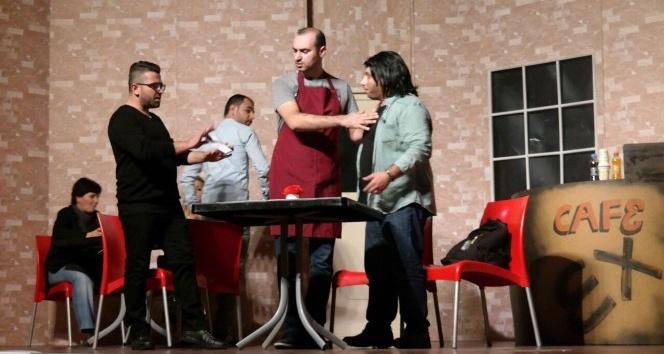 Yazaki çalışanlarından tiyatro