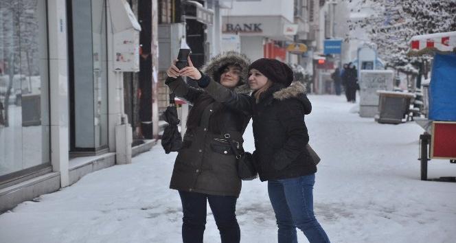 Kars'ta kış manzaraları