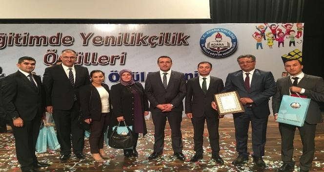 Milli Eğitim Bakanlığından, Korkuteli'ne Proje Ödülü