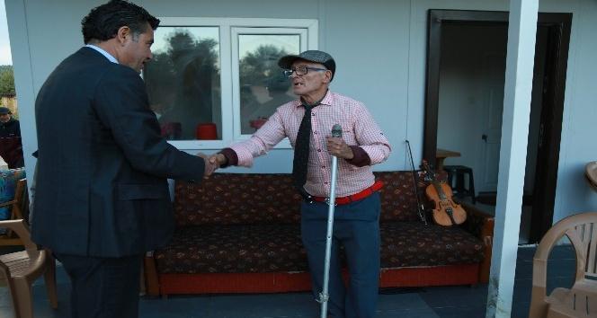 Başkan Kocadon'dan Kemancı Mehmet'e ziyaret