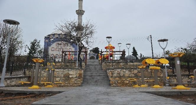 Altınordu'da yeşil alan ve park çalışmaları