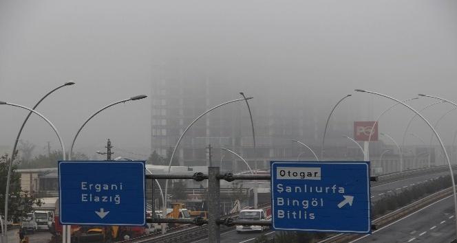 Diyarbakır'ı sis kapladı