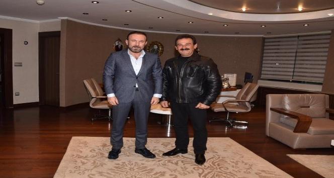 Muhtar Şahin'den Başkan Doğan'a teşekkür ziyareti