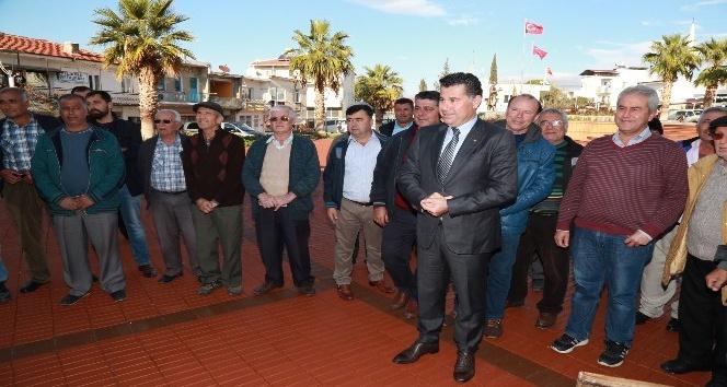 Mehmet Kocadon, Mumcular'da vatandaşları ağırladı
