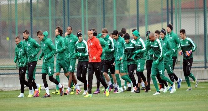 Bursaspor, Rizespor maçının hazırlıklarına başladı
